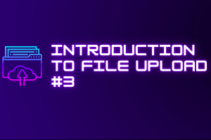 Intro to File Upload #3