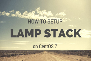 LAMP in CentOS 7
