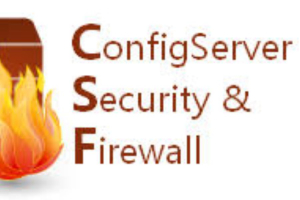 Configuring CSF in CentOS8