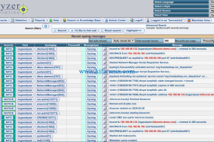 Analyzing Logs with Adiscon LogAnalyzer